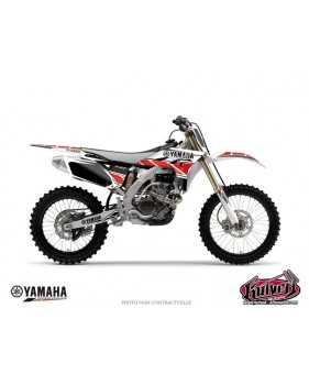 Kit Déco Yamaha 450 YZF REPLICA-Rouge  Kits décos KUTVEK