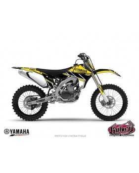 Kit Déco Yamaha 450 YZF REPLICA-Jaune  Kits décos KUTVEK