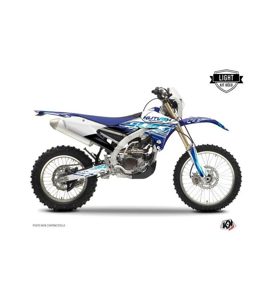 Kit Déco Yamaha 450 WRF ERASER Bleu LIGHT| WRF 450