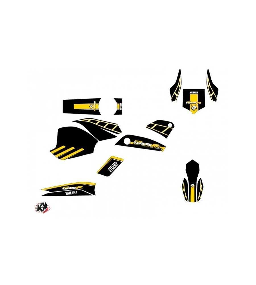Kit Déco XTZ 1200 Super Ténéré ADVENTURE Noir Jaune  XTZ