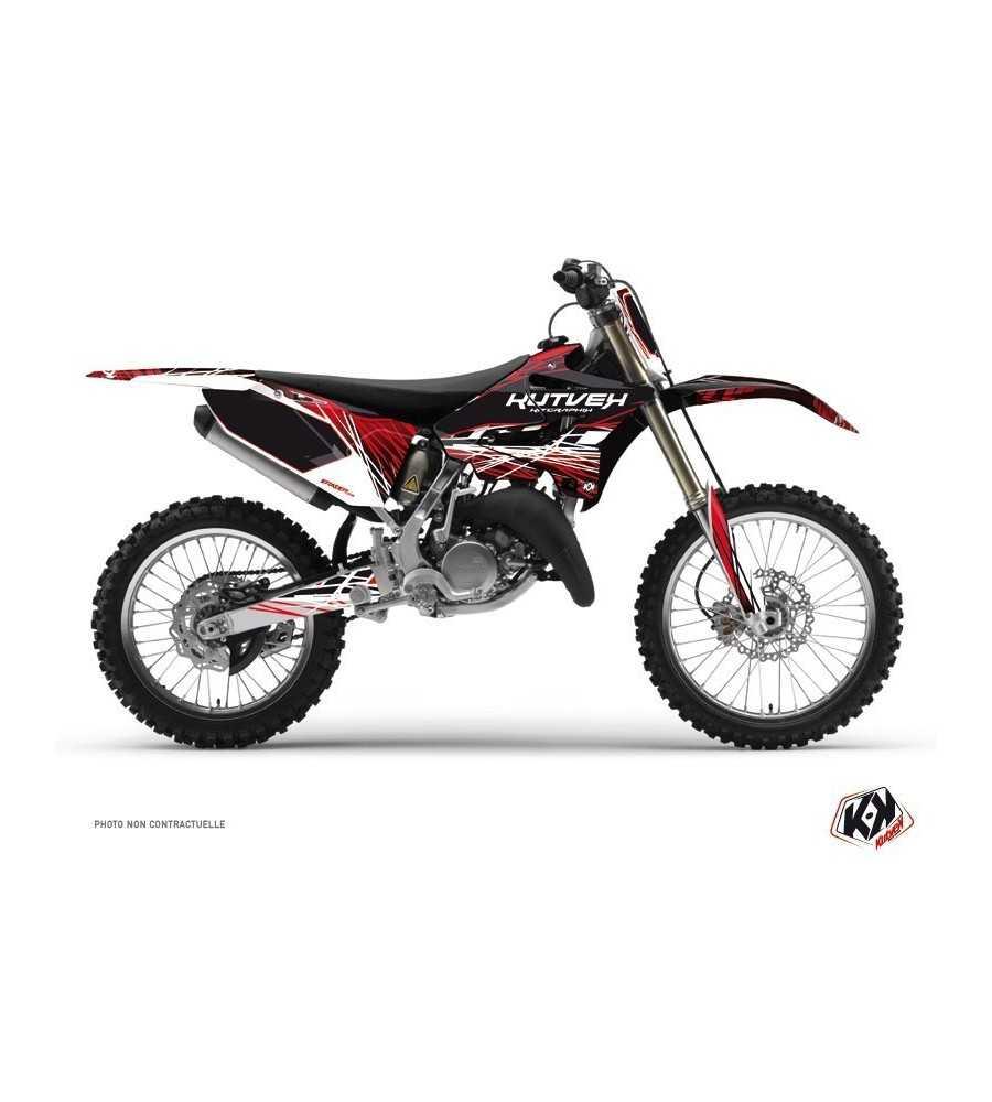 Kit Déco Yamaha 125-250 YZ ERAZER Rouge