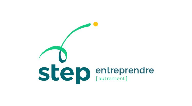 Step logo vertical web