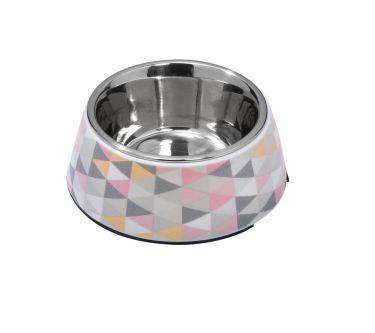 Gamelle chiens et chats PRISM Rose