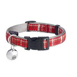 collier pour chien kilt bobby rouge