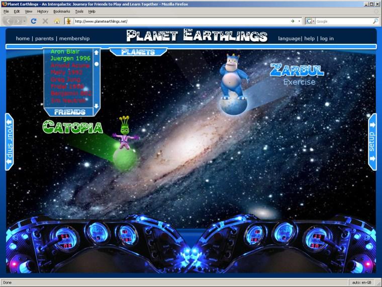 Space Ship Interface v03