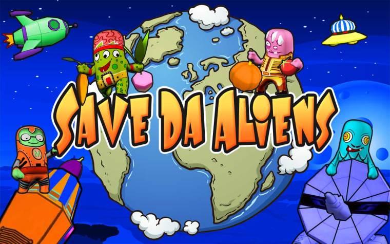 Save Da Aliens Art