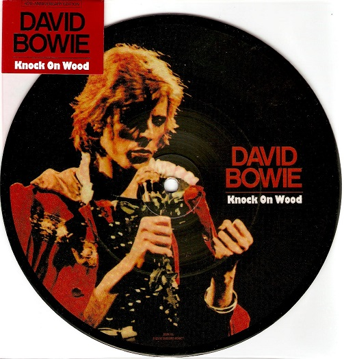 DAVID BOWIE Knock On Wood Vinyl Record 7 Inch Parlophone