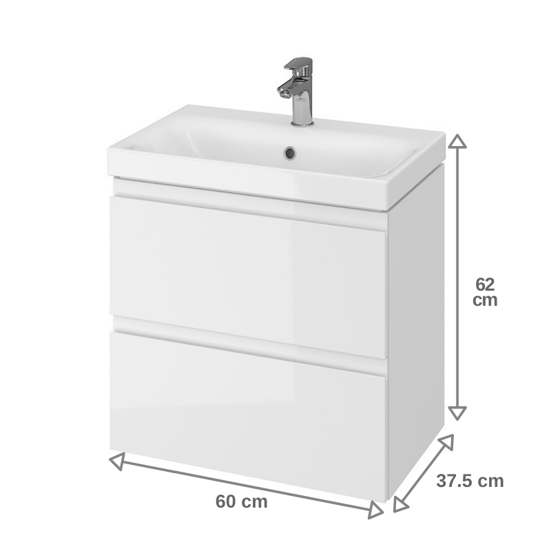 salle de bain 60 cm faible profondeur