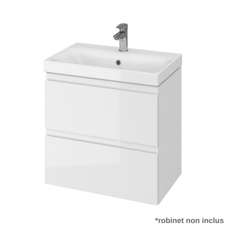Vente Meuble De Salle De Bain 60 Cm Faible Profondeur 37 5cm Blanc