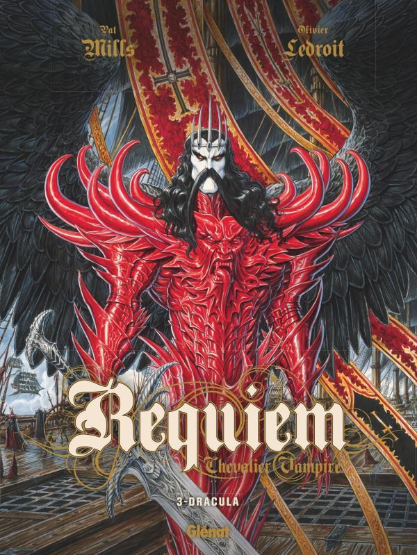 Requiem  chevalier vampire T3  Dracula 0 bd chez