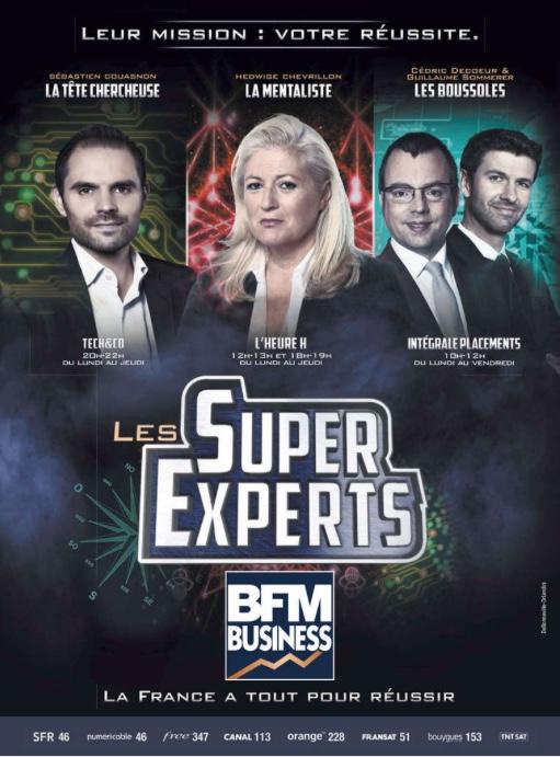 Campagne de presse BFM Business décembre 2017