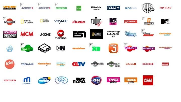 liste des chaînes TV by CANAL