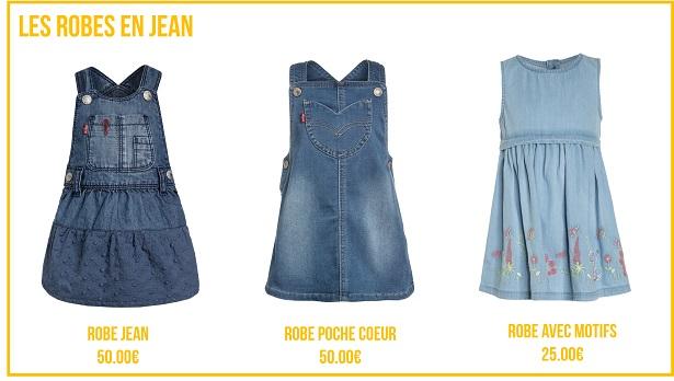 Les Robes en Jean