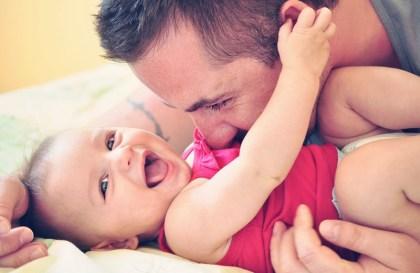 Le congé parental d'éducation pour les papas