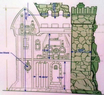 Grayskull Skizze