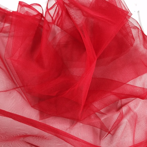 tulle rouge vif