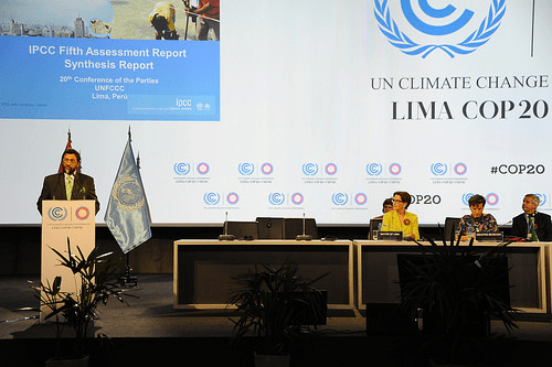 The COP20 in Lima, Peru (Source: Creative Commons)