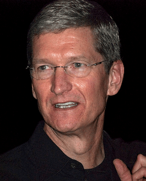 Apple CEO Tim Cook, 2009 (Image Credit: Valery Marchive / WikiMedia Commons)