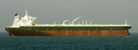 A commercial oil tanker. (Image: WikiMedia Commons)