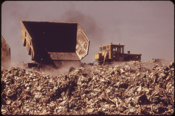State Island landfill, New York. (Image Credit: Gary Miller)