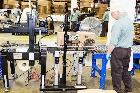 Production line in an EFP factory. (Photo: EFP)