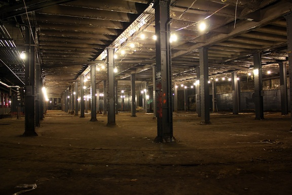 The Williamsburg Bridge Trolley Terminal as it appears today. (Photo Credit: Danny Fuchs)