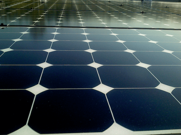Solar panels. (Photo Credit: Jeremy Levine / Flickr)