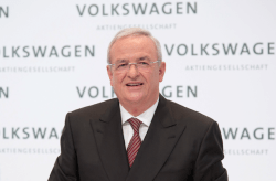 Martin Winterkorn, former CEO of the Volkswagen Group. (Photo Credit: Volkswagen Sweden)