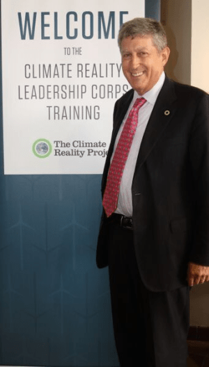 Ken Berlin, President and CEO of the Climate Reality Project, at the Climate Reality Leadership training in Miami, FL. (Photo Credit: Juli Schulz)