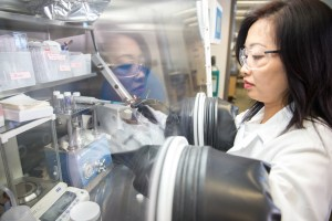 Shirley Meng of UCSD is finding innovative ways to store and convert renewable energy. (Photo: Benefunder)