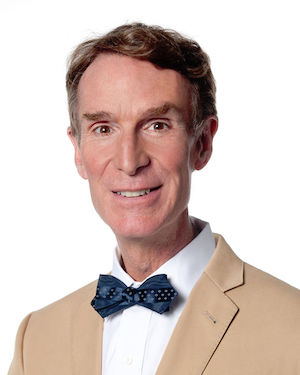 Bill Nye. Not a scientist, bowtie enthusiast. (Photo Credit: Flickr)