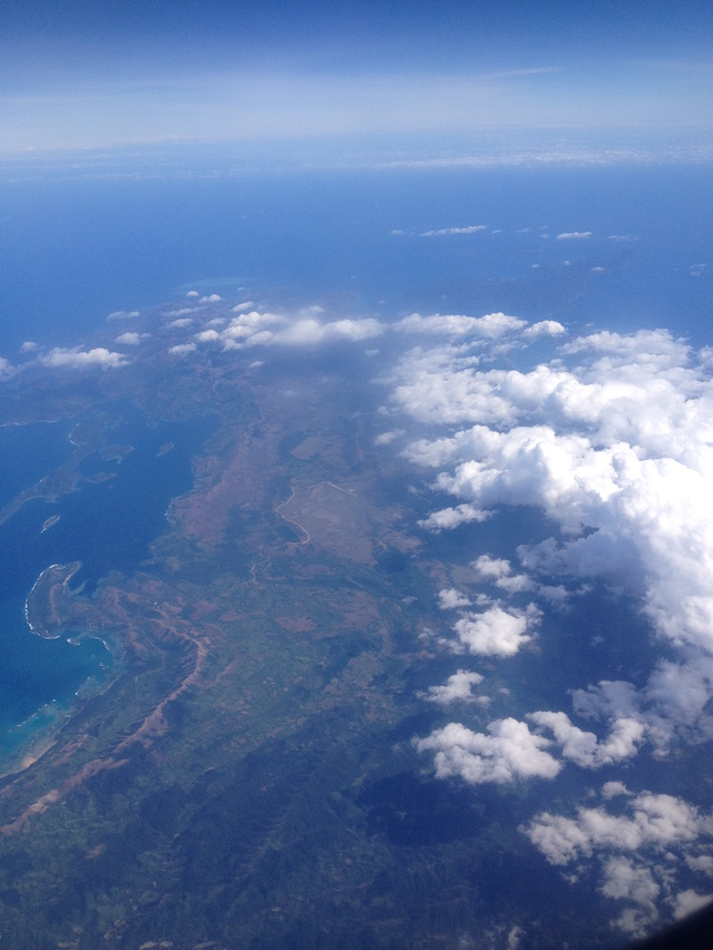 Palawan from the air. (© Jed Wolf)