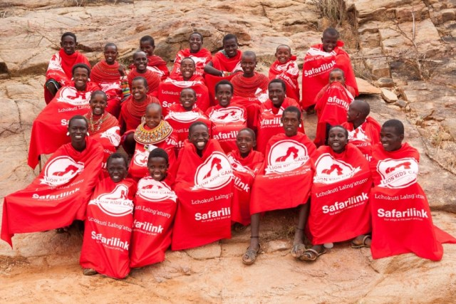 Children participating in this Lion Kids Camp included Samburu and Turkana tribes. It was a great opportunity to have a positive cross cultural exchange. (Photo Credit: Tony Allport)