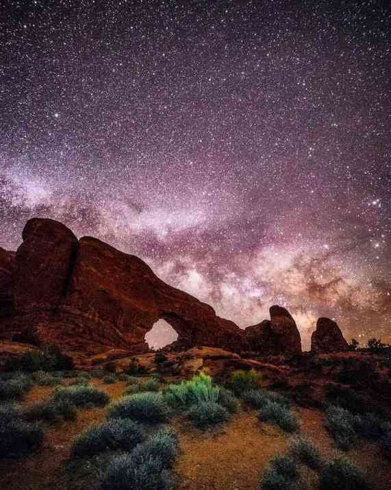The Windows trail at Arches National Park. Photo credit: Hunter Day.