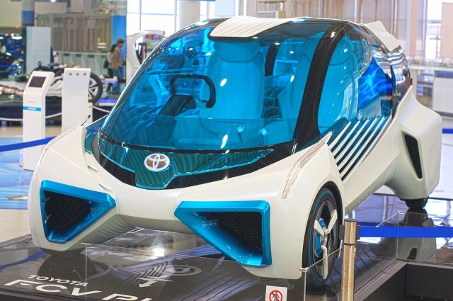 Not the new solar car in question. This is a future concept car from Toyota. But it looks cool, no? (Photo Credit: Gavilla / Pixabay)