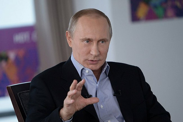 Russian President Vladimir Putin. (Photo: Global Panorama / Flickr)