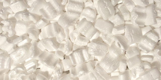 Packing peanuts are just one of polystyrene's many forms. (Photo: Photo: Karim D. Ghantous / Flickr)