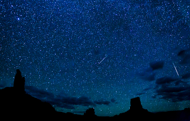 A starry sky blankets Utah's controversial Bears Ears Nationals Monument. (Photo: Bob Wick / BLM)