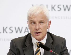 Volkswagen Group CEO Matthias Müller. (Photo via WikiMedia Commons)
