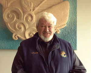 Bill Solomon, one of Whale Watch Kaikōura's founders.