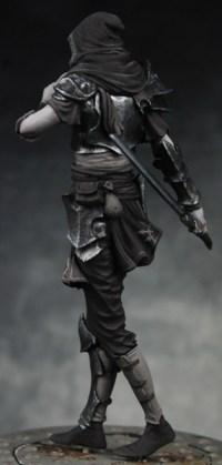 WIP Critique - Dark Elf Assassin | planetFigure | Miniatures