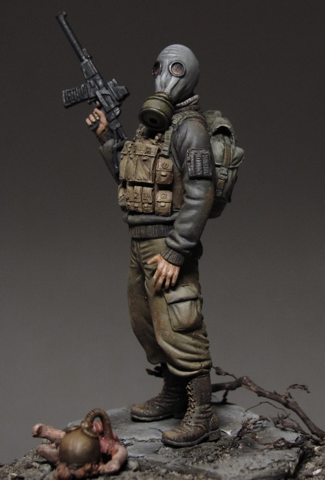 Painting 54mm Figures