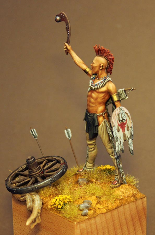 Pawnee warrior  planetFigure  Miniatures