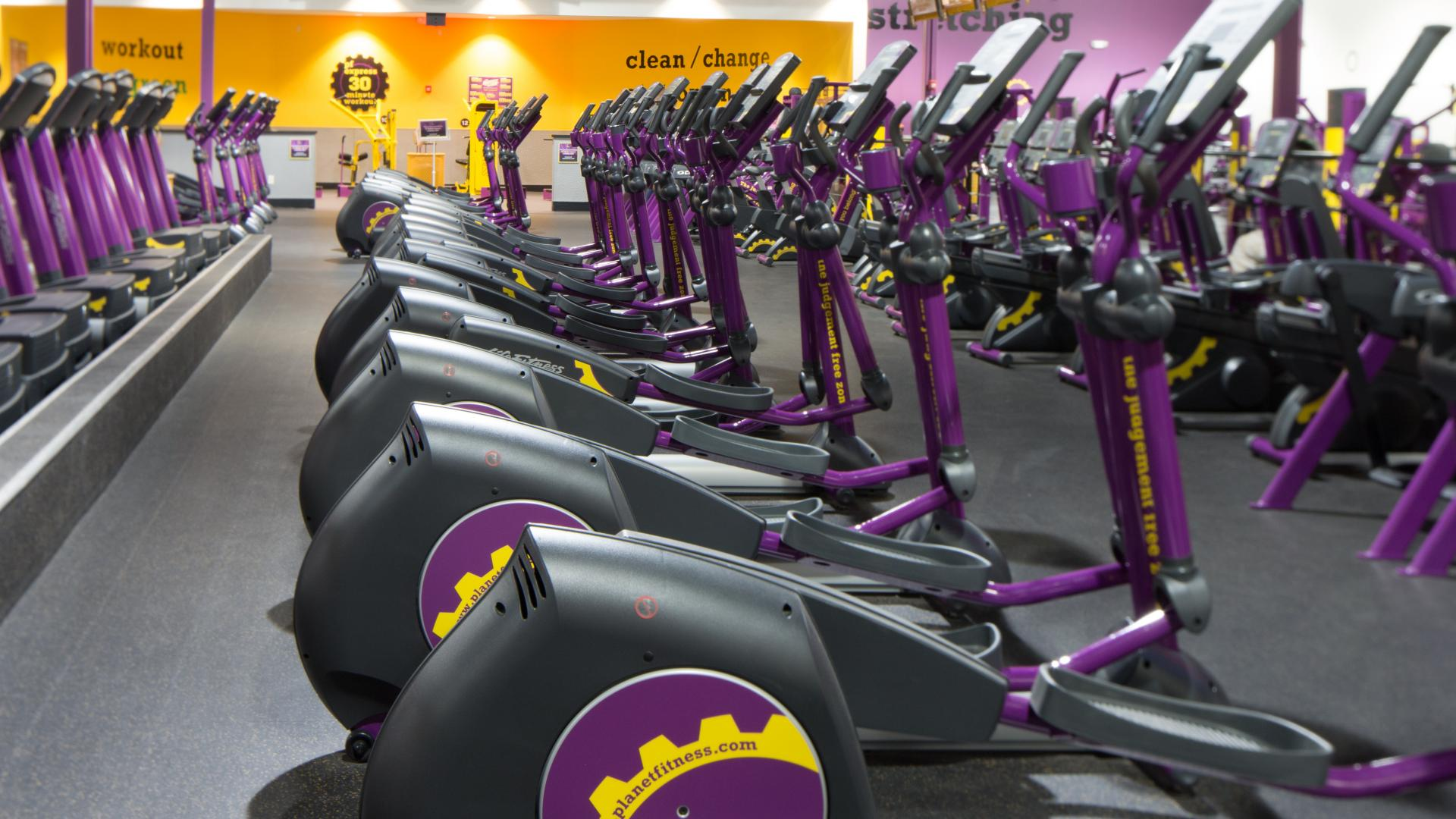 Gym in Yuma AZ  1232 S Castle Dome Ave  Planet Fitness