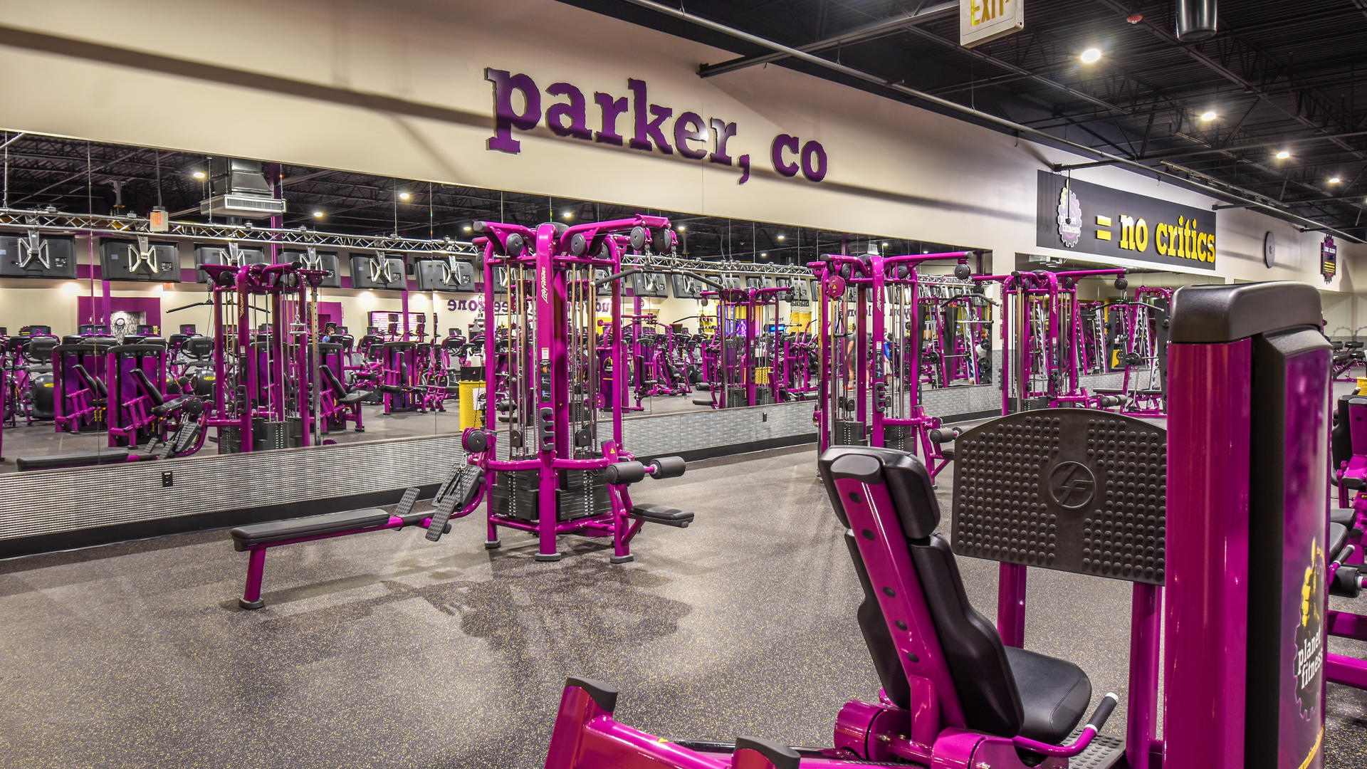 Gym in Parker CO  10901 S Parker Rd  Planet Fitness