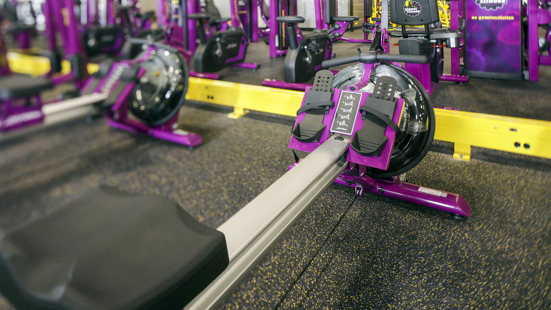 Planet Fitness Chest Machines - Year of Clean Water
