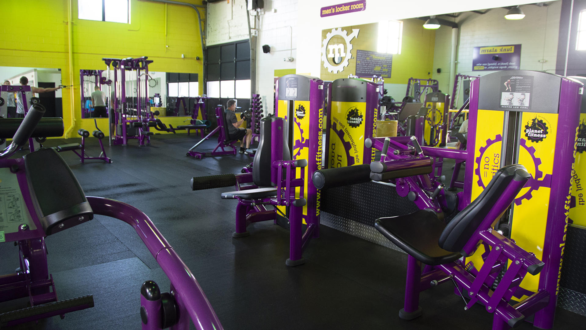 Gym in Augusta ME  264 Civic Center Dr Ste 2  Planet