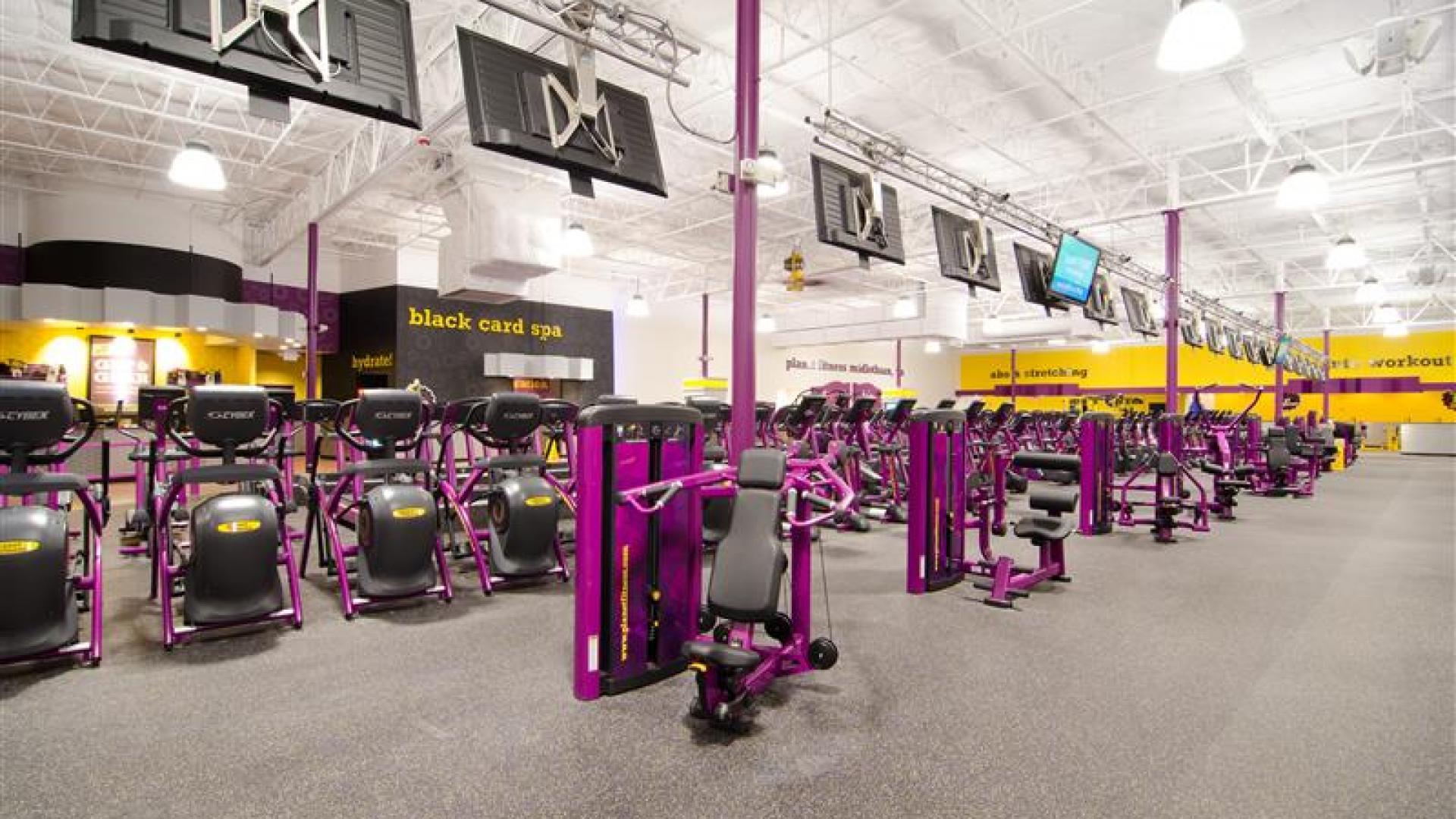 Gym in Midlothian VA | 11001 Hull Street Rd | Planet Fitness