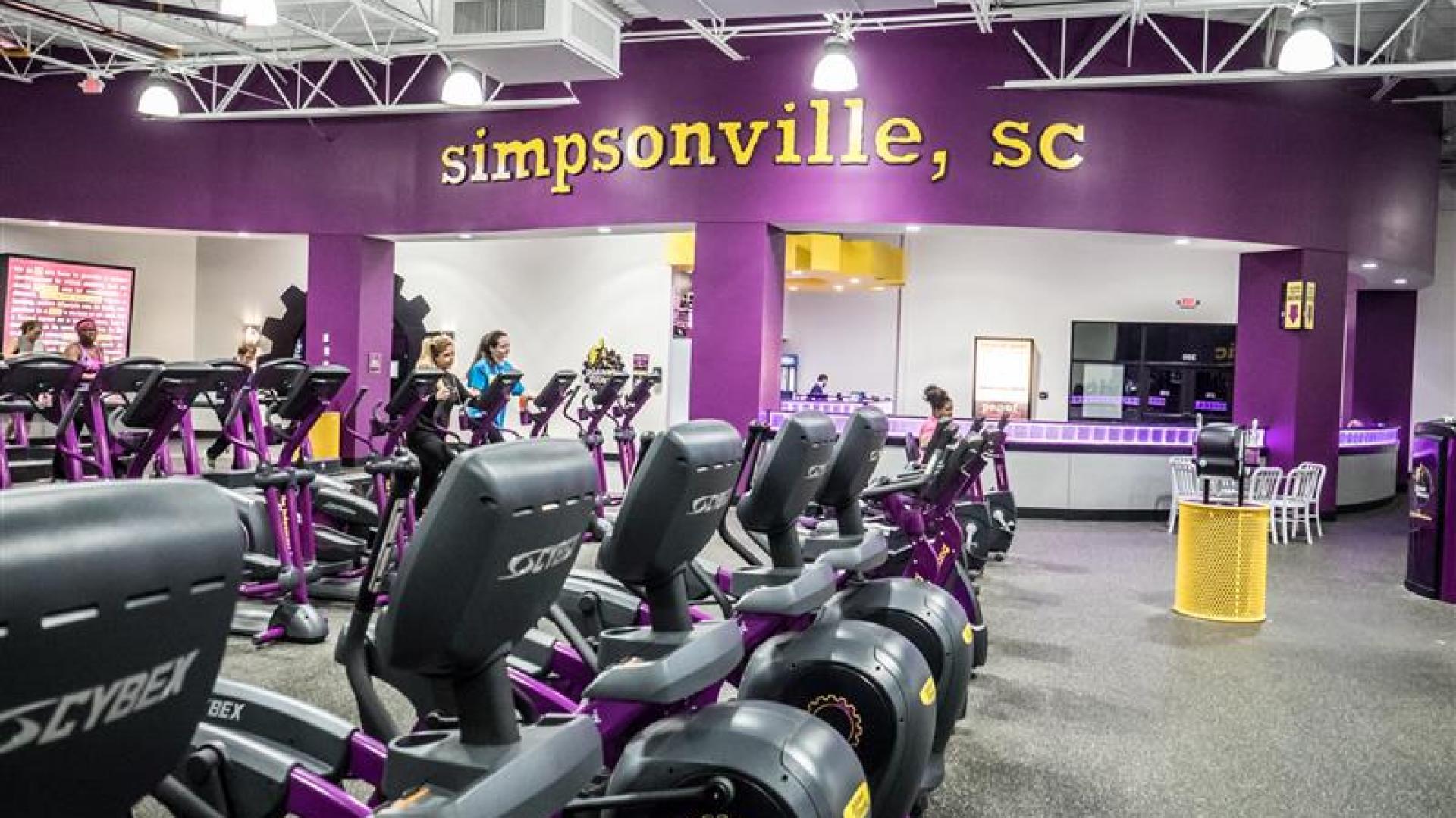 Simpsonville SC  Planet Fitness