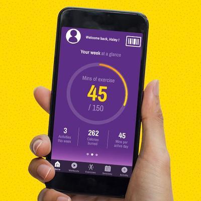 Mobile App | Planet Fitness